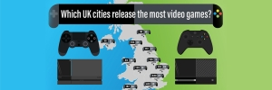 Which UK Cities Release The Most Video Games?
