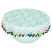 20cm Lace Bowl Protective Cover - Kitchen Craft Food -  lace bowl cover kitchen craft 20cm food