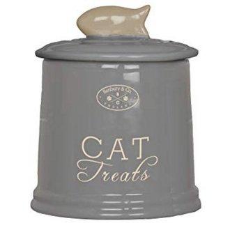 Banbury And Co. Ceramic Cat Treat Storage Jar