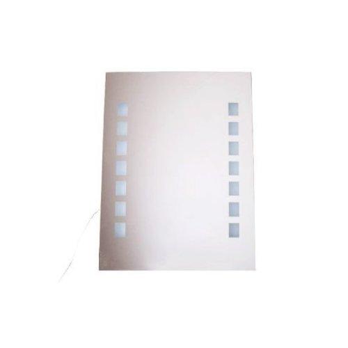 Homcom LED Illuminated Bathroom Infrared Sensor Mirror Light