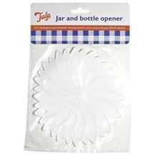 Non Slip Rubber Jar Opener - Tala Bottle White Gripper Aid -  jar opener tala rubber bottle white gripper aid