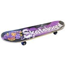 31 x 8 Retro Wooden Skateboard -