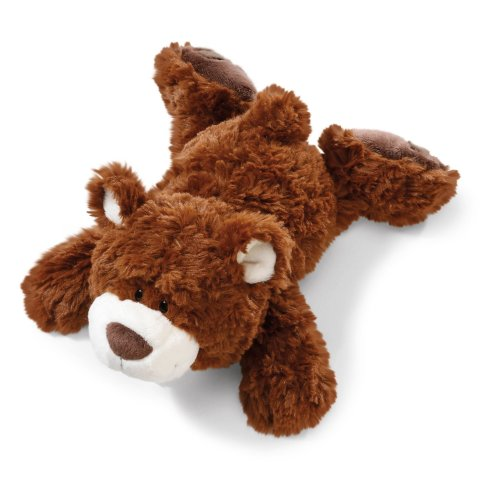 9dd1a2755fa9 NICI 41500Â Classic Bear Soft Toy Bear Lying Down 50Â cm Dark Brown on OnBuy