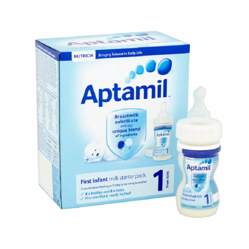 Aptamil Infant Formula First Infant Milk Starter Pack