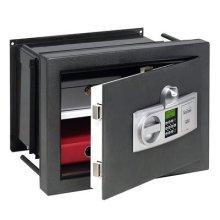 BURG-WÄCHTER, Wall Safe, Electronic Combination Lock with Finger Print Scanner, Resistance Grade 0, Karat WT 14 N E FS