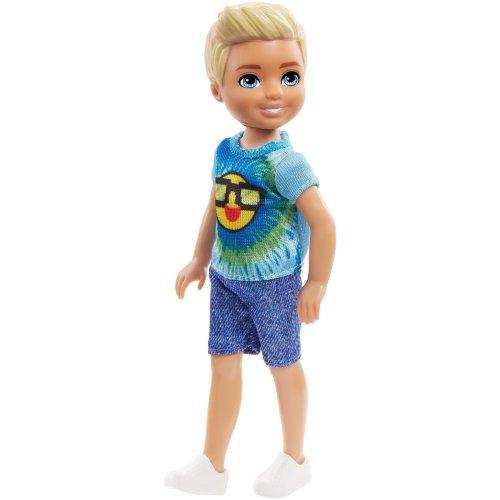 Barbie Club Chelsea 15cm Boy Doll - Emoji Tie Die Outfit