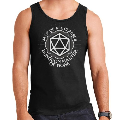 Master Of None Dungeons And Dragons Men's Vest
