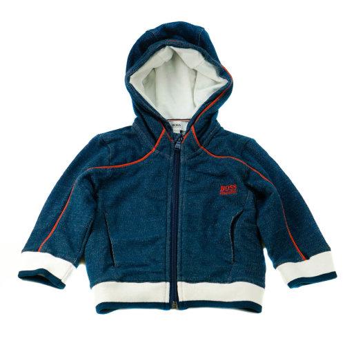 Hugo Boss Baby Sweatshirt Hoodie Blue