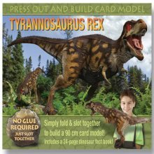 Press Out and Build Tyrannosaurus Rex   (Book & Model)