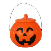 2PCS Trick Or Treat Pumpkin Halloween Party Decor Children Prop Candy Storage-A3