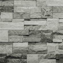 Hyfive Grey 3D Brick Effect Wallpaper   Stone Effect Wallpaper