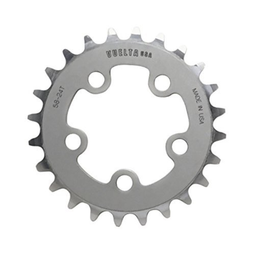 Vuelta SE Chainring, 130 x 38T, Silver