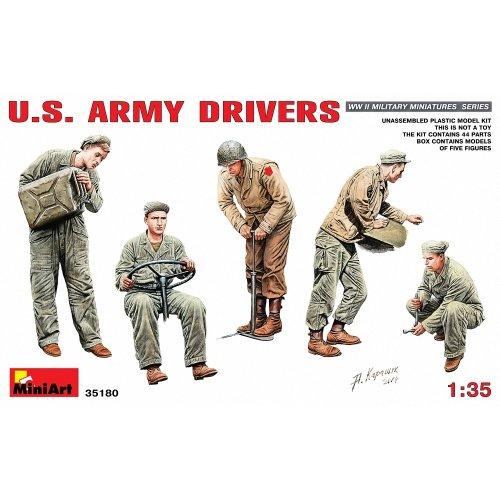 Min35180 - Miniart 1:35 - U.s. Army Drivers