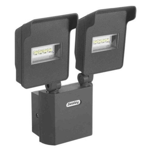 Sealey LED046 Floodlight with 2-Swivel Head and Wall Bracket LED