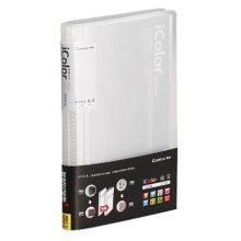 Business Card Case 360 Pockets Credit Card Holder Case WHITE