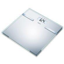 Sanitas Body Analysis Scales Glass 180 kg Silver SBF 14