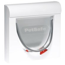 PetSafe Magnetic 4-Way Cat Flap Classic 932 White 5032