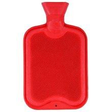 Finesse Hot Water Bottle - Stripey Fleece Covered -