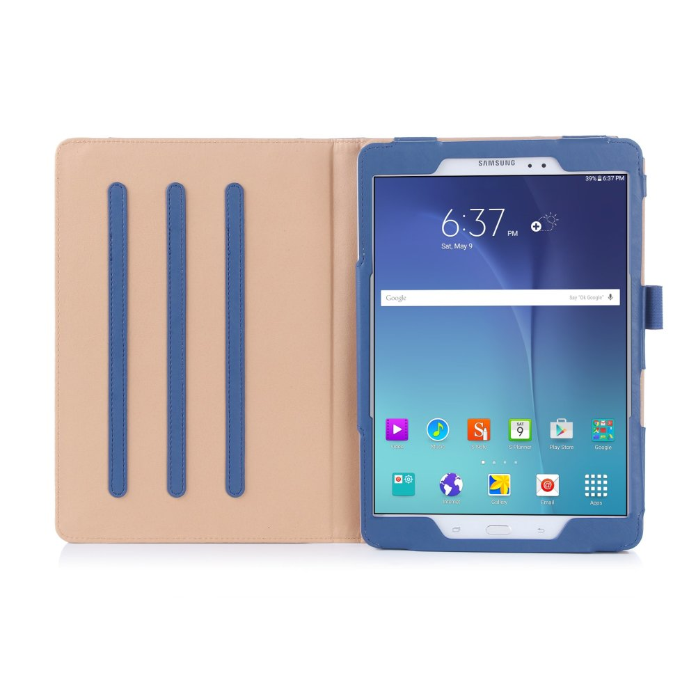 wholesale dealer 8f902 b9c3b ProCase Samsung Galaxy Tab S2 9.7 Case - Leather Stand Folio Case Cover for  Galaxy Tab S2 Tablet (9.7 Inch, SM-T810 T815 T813) - Navy