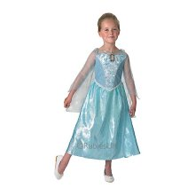 Small Girls Frozen Elsa Musical & Light Up Costume