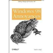 Windows 98 Annoyances