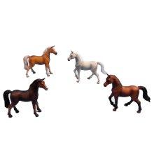 * 11.5cm Horse - 8 Asst. - Kids Globe Toy Farm Animal (1 Supplied) Figurine - Kids Globe 11.5cm Horse Toy Farm Animal (1 Supplied) Figurine Game