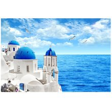 Aegean Sea, Fashionable Wooden Puzzle For Adult 1000 Piece Jigsaw Puzzle