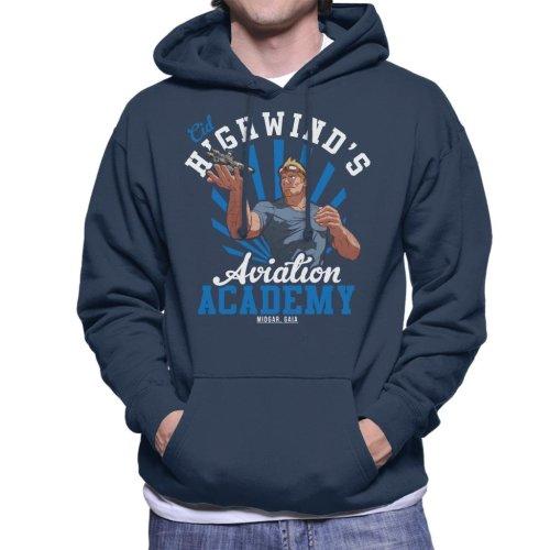 Cid Highwinds Aviation Academy Men's Hooded Sweatshirt