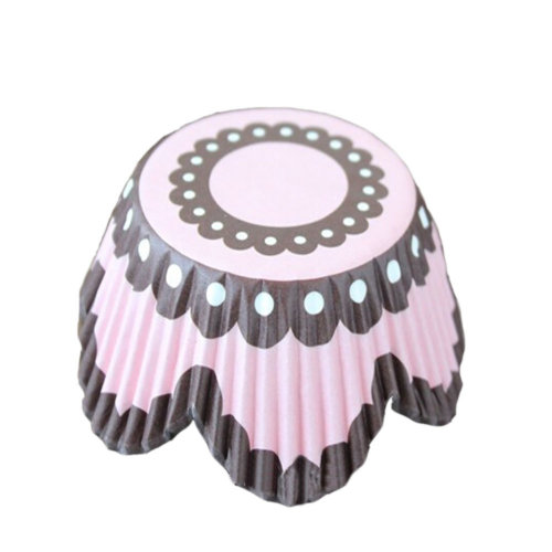 Set of 2 Lovely Flower Heat-Resistant Baking Cups/Cupcak Cups/Muffin Cups,250Pcs