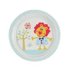3 Pieces Of Fashion Cartoon Drop Resistance Plate For Children