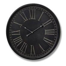 Charcoal Grey Wall Clock - Hill Interior 16339 -  charcoal grey wall clock hill interior 16339