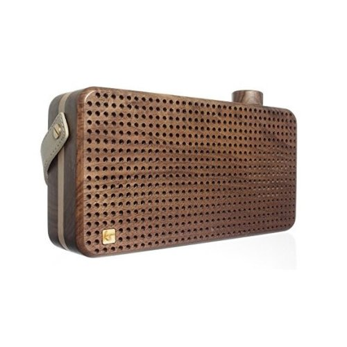 KitSound Soul Wooden Bluetooth Universal Speaker 3.5 mm Jack Bluetooth Wooden