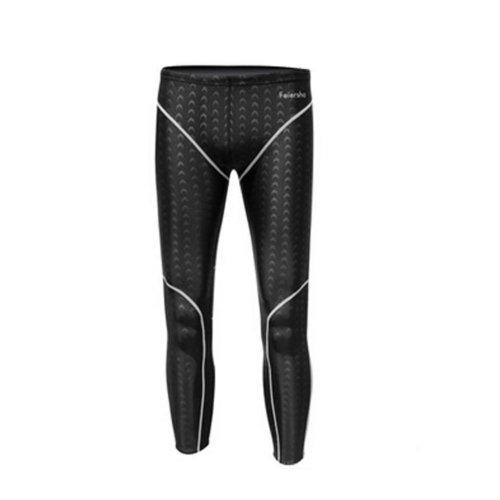 Waterproof Quick Dry Garment Swimwear For Men\High Quality Bathing Suit(White)