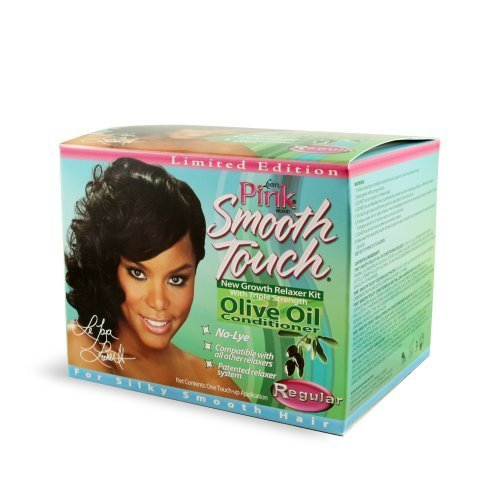 Luster's Pink Smooth Touch New Growth Relaxer Kit Regular