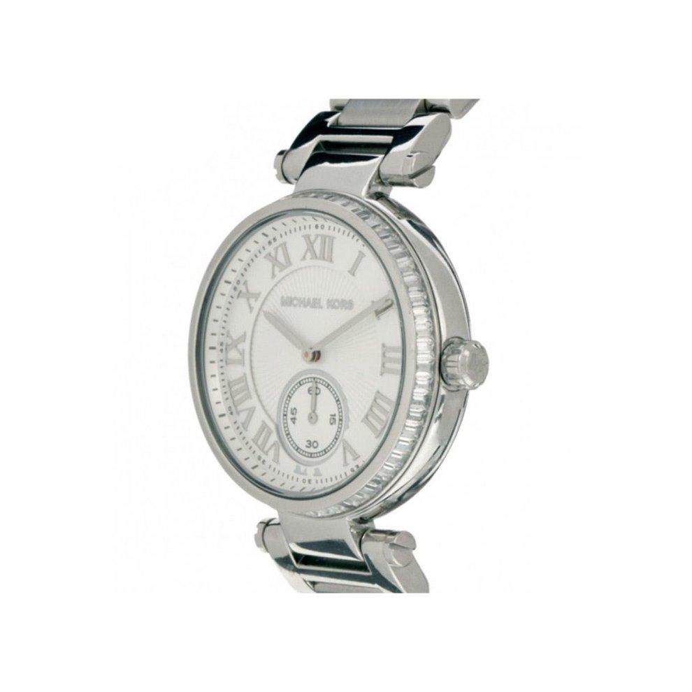 be9fccbb4401 ... Michael Kors Ladies Designer Watch Silver Stainless Steel Skylar -  MK5866 - 1 ...