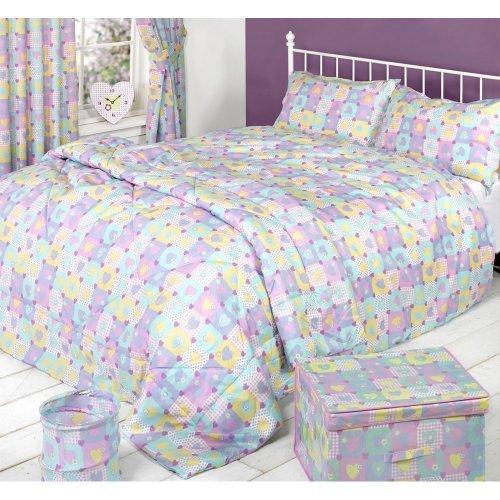 Mucky Fingers Childrens Heart Pattern Duvet Cover Bedding Set