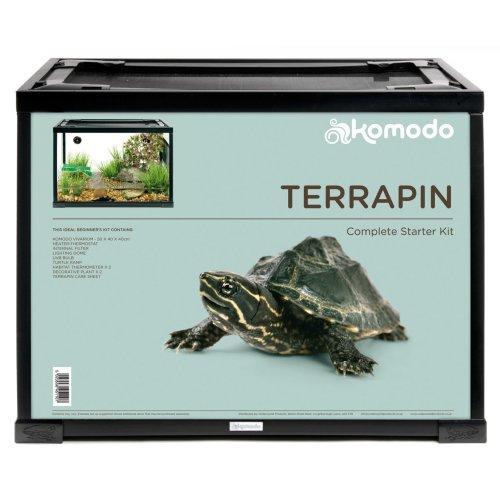Komodo Terrapin Starter Kit 60x30x45cm (24x12x18'')