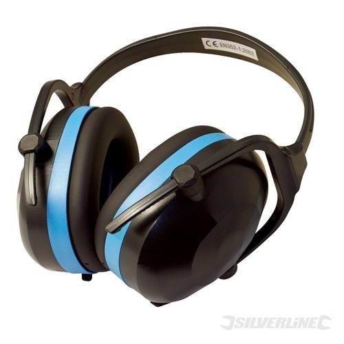 Silverline Snr 30db Folding Ear Defenders