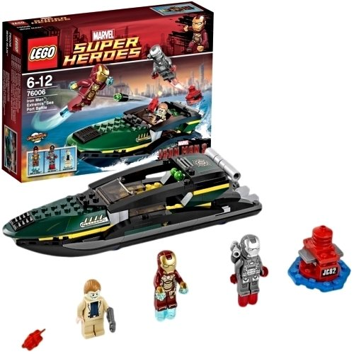 Lego super heroes iron man extremis sea port battle 76006 - Lego iron man extremis sea port battle ...