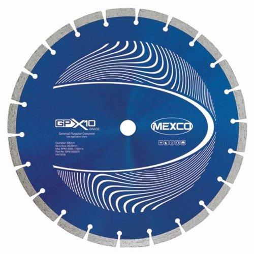 Mexco 125Mm Concrete X10 Grade Diamond Blade