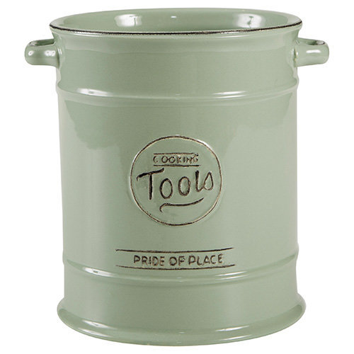 T&G Pride of Place Utensil Pot In Old Green