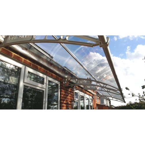 Cantilever Door Canopy | 2500mm wide x 1000mm projection