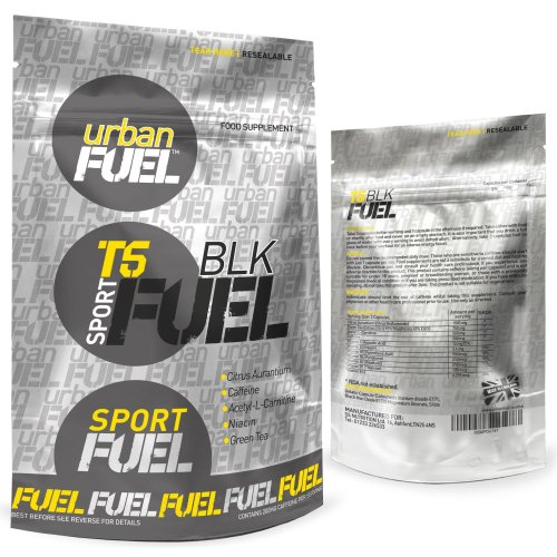 T5 BLK Fat Burners by Urban Fuel | Strong T5 Diet Pills Weight Loss | Strongest T5 Black Fat Burner 2700mg Per Serving