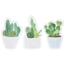 Cactus Sticky Notes - Notes150 Sheets Memo Pad -  cactus sticky notes150 sheets memo pad