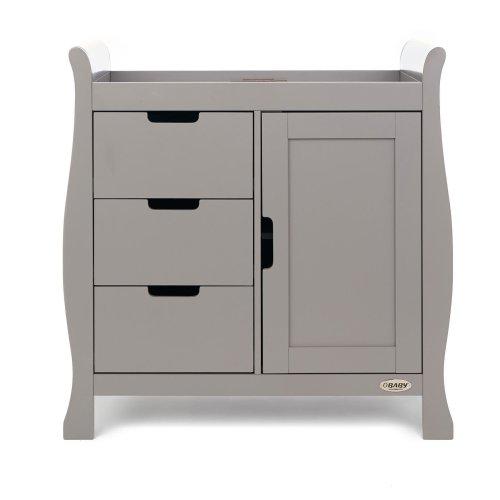 Obaby Stamford Changing Unit - Taupe Grey
