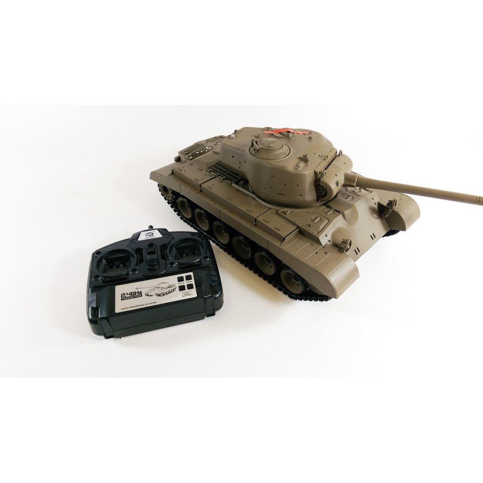 7ae029fe8f94 ... Remote Control Battle R C Snow Leopard Battle RC Tank BB Shooting Heng  Long 1 ...