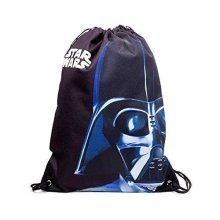 STAR WARS Unisex Darth Vader Face Gymbag One Size - Black (CI080437STW)