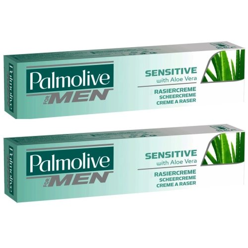 Palmolive Shave Cream Sensitive 2 x 100ml