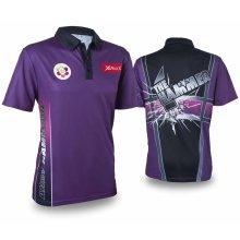 XQmax Darts Andy Hamilton Replica Match Shirt Purple XXL QD9200360