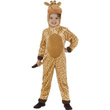 Giraffe Kids Fancy Dress Jungle Animal Book Day Week Childs Children Costume New -  giraffe costume fancy dress animal outfit book childs boys girls